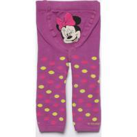 9174d13cb Meia Calça Legging Mickey Mouse®- Roxa   Verdelupo