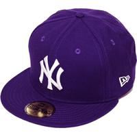 Boné New Era Aba Reta Fechado Mlb Ny Yankees Basic - Unissex-Roxo e24aad27e61
