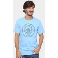 8ebfa17de8 Camiseta Manchester City Nike Crest Masculina - Masculino