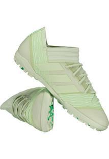 Chuteira Adidas Nemeziz 17.3 Tf Society Verde 9e734b8b627a5