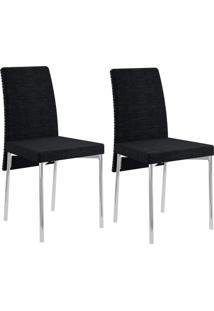 Kit Com 2 Cadeiras Carraro - 0306