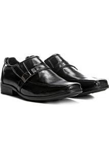Sapato Social Couro Walkabout Warwick Masculino - Masculino-Preto