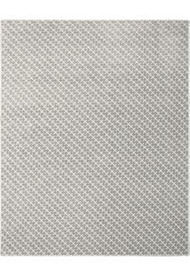 Tapete Classe Geométrico- Cinza & Branco- 500X400Cm