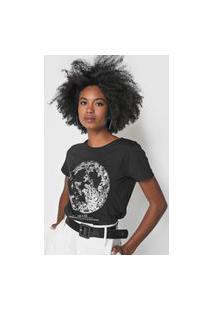 Camiseta Lez A Lez Moon Preta