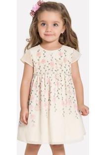 Vestido Infantil Milon Chiffon 11903.2736.4
