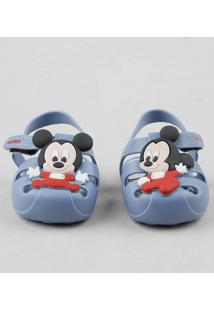 Sandália Infantil Grendene Mickey Azul