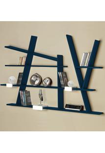 Prateleira Decorativa Turner 325 Azul Noite - Maxima