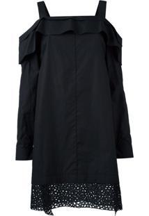 Proenza Schouler Vestido Ombro A Ombro - Preto