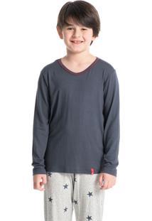 Pijama Stars Longo Masculino Infantil