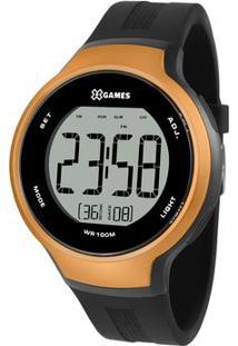 Relógio Digital Quartz Xmppd558Bxpx- Preto & Laranjaorient