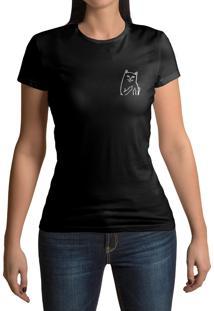 Camiseta Hunter Cat Preta