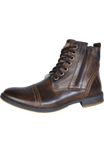 Bota Casual Eagle Black Café