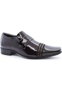 Sapato Masculino Social Couro Verniz Jota Pê 32005
