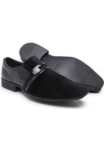 Sapato Social Couro Schiareli Verniz Masculino - Masculino
