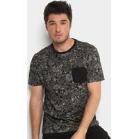 Camiseta Mcd Especial Full Pasley Masculina - Masculino-Preto 9d32b879730