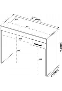 Mesa Para Computador Com Gaveta Cooler Artely Amarelo