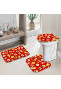 Jogo Tapetes Para Banheiro Presentes Único