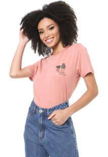 Camiseta Lez A Lez Free Hugs Rosa - Kanui