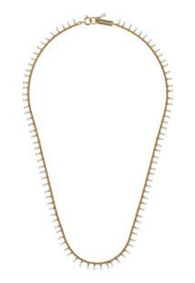 Isabel Marant Casablanca Beaded Necklace - Branco
