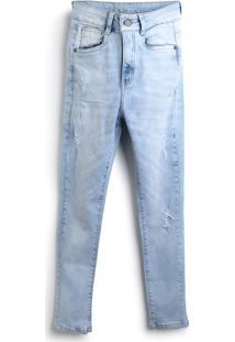 Calça Jeans Aeropostale Menino Estonada Azul