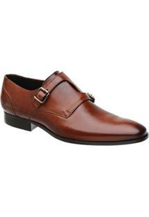 Sapato Monk Masculino Malbork Em Couro 60052 - Masculino