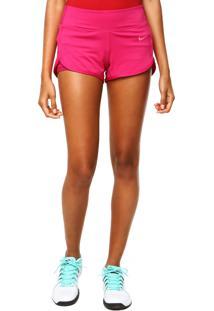 Bermuda Nike Court Short Fireberry Rosa
