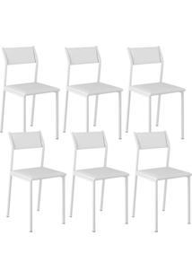 Cadeira 1709 Color Uv 06 Unidades Branca Carraro