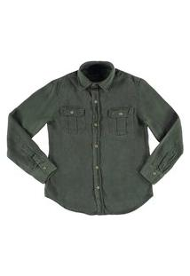 Camisa Crawling Liocel Verde Militar
