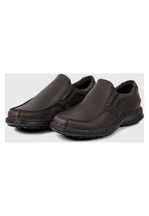 Sapato Em Couro Hayabusa Support 8 Café