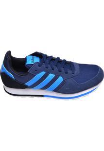 Tênis Masculino Casual 8K Adidas Azul Marinho