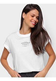 Camiseta Colcci Serendity Feminina - Feminino