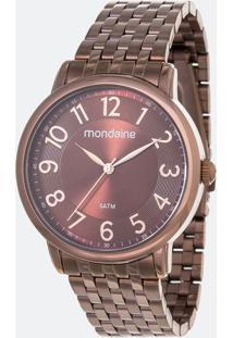 Relógio Feminino Mondaine 53673Lpmvme2 Analógico 5Atm