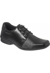 Sapato Social Infantil Classic Redmax B923 - Masculino-Preto