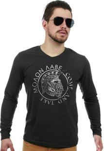 14a855bfc4 Camiseta Militar Manga Longa Molan Labe Come And Take - Masculino
