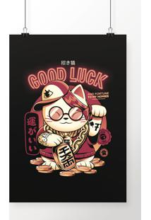 Poster Fortune Cat