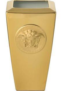 Vaso Medusa 32 Cm Gold Versace