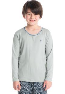Pijama Infantil Masculino Longo Estampado Lucas