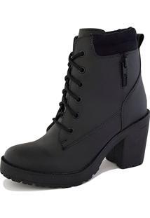 Bota Trivalle Shoes Tratorada Ziper