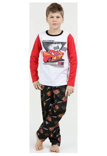 Pijama Infantil Moletinho Carros Disney