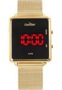 Relógio Condor Digital Cojhs31Baa/4X Feminino - Feminino-Dourado