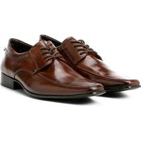 009860fb73 Sapato Social Couro Shoestock Tradicional Masculino - Masculino-Marrom