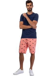 Bermuda Jeans Rosa