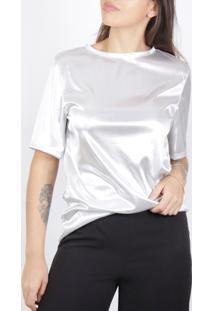 Camiseta Superfluous Prateada - Kanui