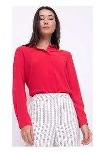 43a54de5cb Camiseta Com Bolso Crepe feminina