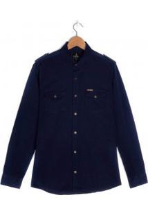 Camisa Masculina Amil Slim Paris