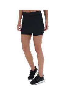 Short Saia Adidas Skort - Feminino - Preto