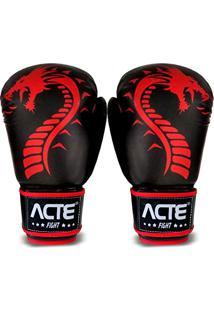 6ff024e55 Luvas De Boxe Dragon Vermelho 14Oz P4 Acte Sports