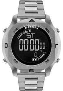 7b256fc1b8ac0 Relógio Masculino Mormaii Pro Digital Mo11273C 1P - Unissex-Prata