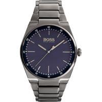 781dff18459 Relógio Hugo Boss Masculino Aço Chumbo - 1513567