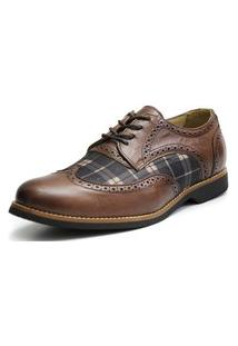 Sapato Oxford Shoes Grand Chess Chocolate